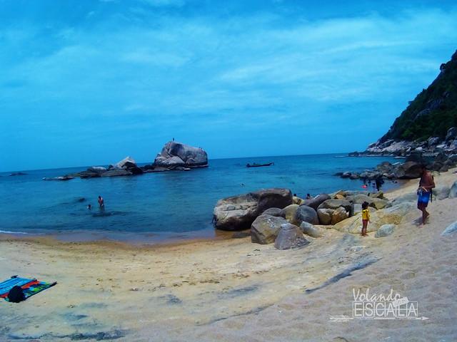 Principales playas de Koh Tao