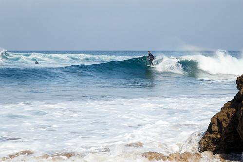 Surf en la playa de Bakio