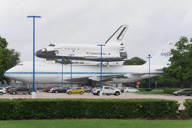 Shuttle & B747 Carrier #5