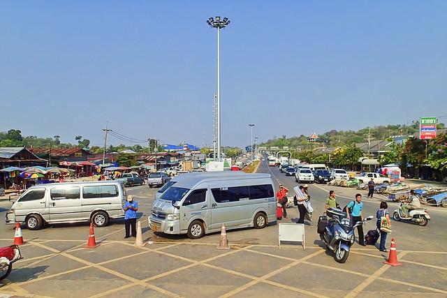 Chong Mek Border Crossing