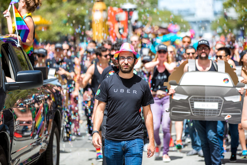 Uber, SF Pride 2015