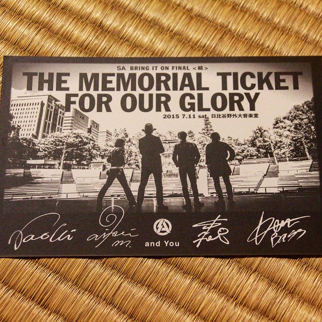 Photo:SA BRING IT ON FINAL〈結〉THE MEMRIAL TICKET FOR OUR GLORY 2015.07.11(Sat) 日比谷野外大音楽堂 By Ryouhei Saita