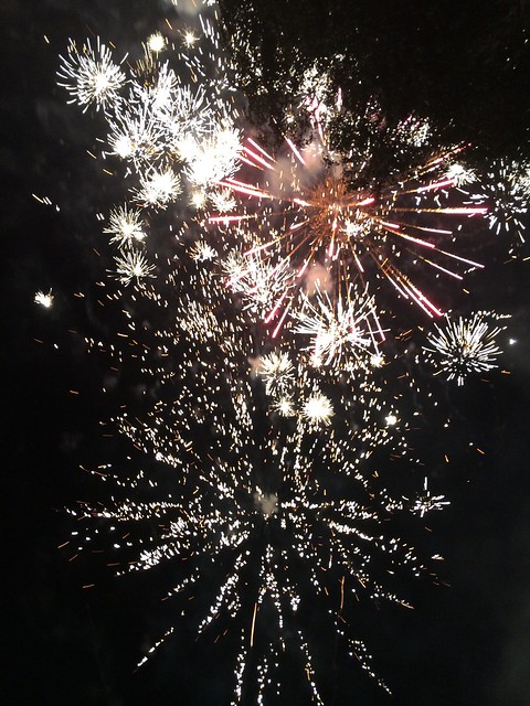 Fireworks on the Fourth of July, 2015