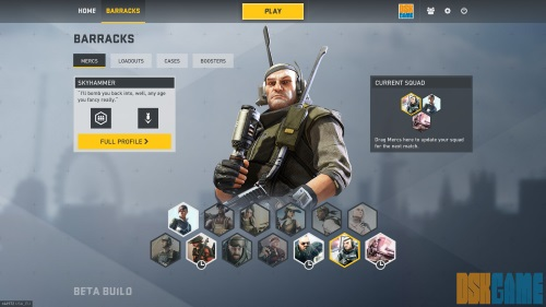 Dirty Bomb - Mercenarios