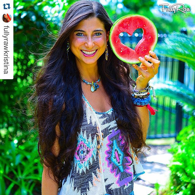 "ON THE BLOG @rabbitandrobin #Repost @fullyrawkristina  ??? Self-hate can only be destroyed with ""self-appreciate."" ????? Eating #fruits and #vegetables is GOOD for your body and spirit, and it's a form of self-care. One of the reasons why"