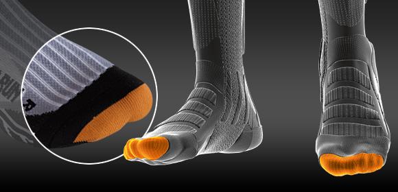 ToeTip Protector X-SOcks