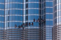 Burj Khalifa Fensterputzen-2