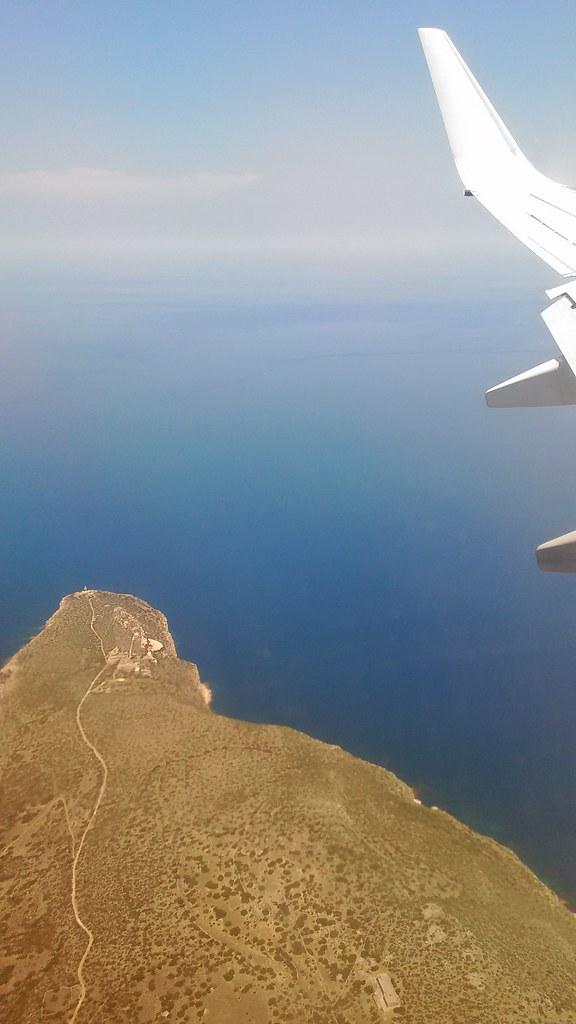 Ed ecco la Sicilia...rientrando da Girona.