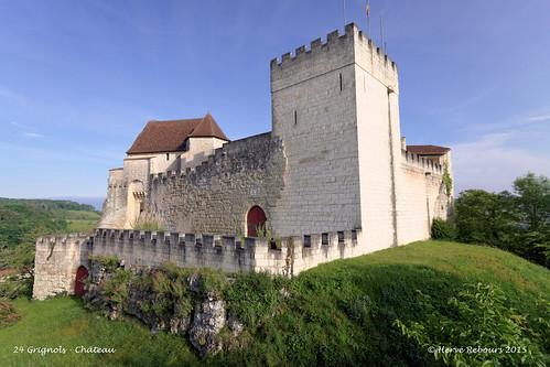 24 Grignols - Château