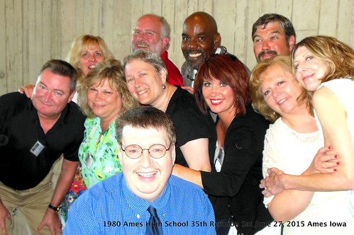 1980 Ames High School 35-Year Reunion Planning Committee, Scheman Bldg, Ames, Iowa 2015-06-27