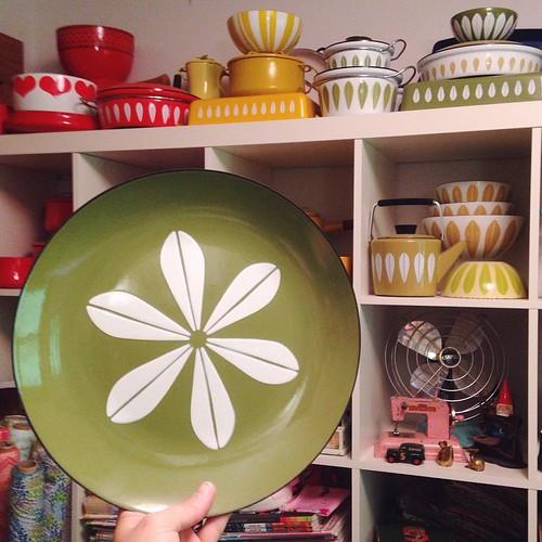 Olive Cathrineholm Platter