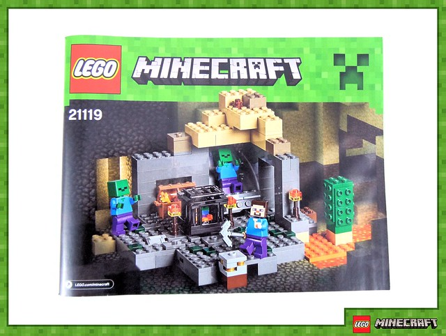 Review - 21119 LEGO Minecraft The Dungeon από EUROBRICKS 19679577539_2d8d382293_z