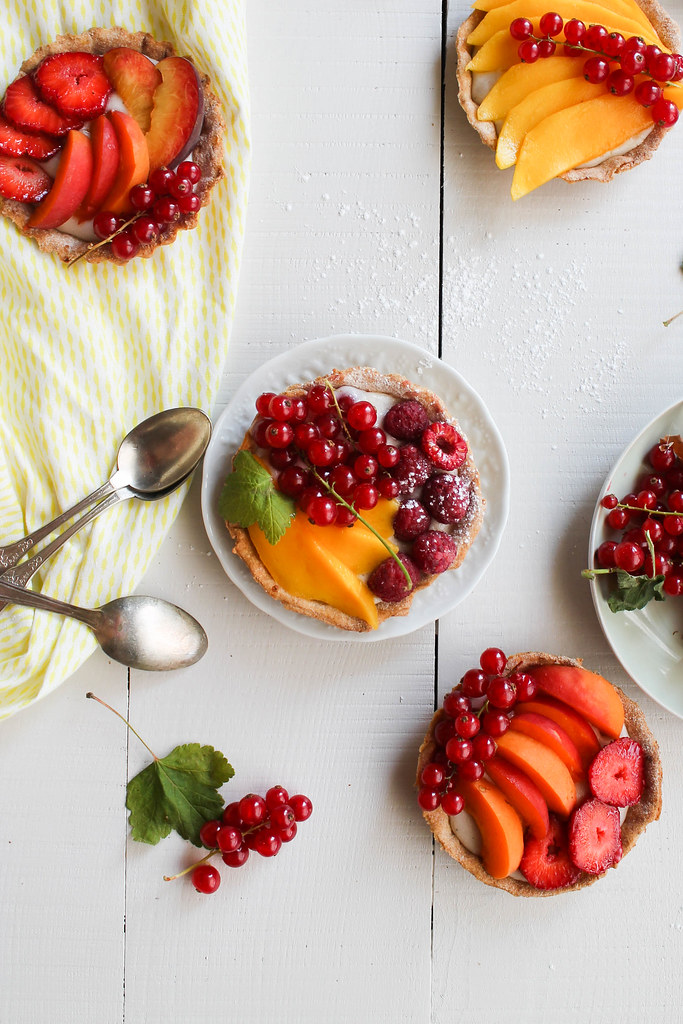 recette Tartelette aux fruits