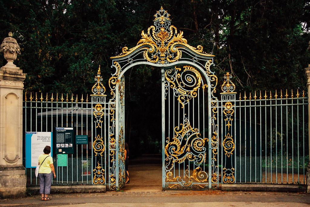 Parc de Bagatelle, Paris, Paris Park, Gate