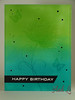 OCC Background Check - Day1 Happy Birthay Card