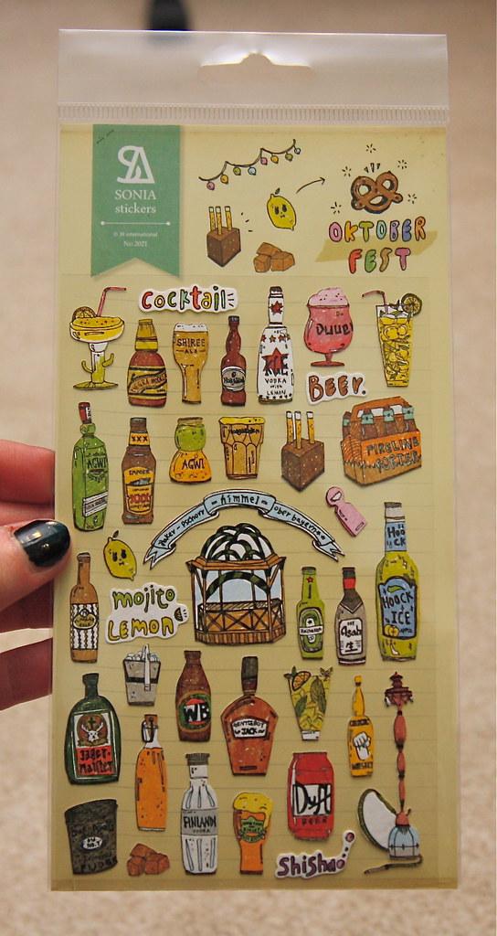 Artbox Sonia oktoberfest stickers