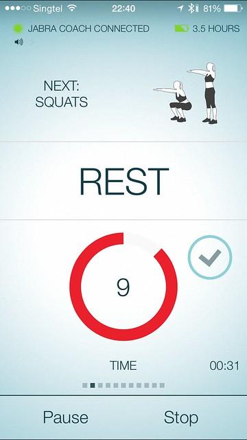 Jabra Sport iOS App - Rest