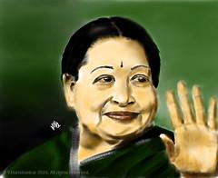 Late CM of Tamil Nadu Madame J. Jayalalitha