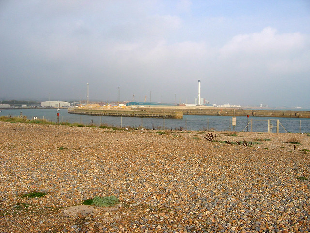The beach at Shoreham