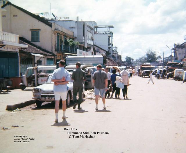 BIEN HOA 1966-67 - Photo by Sp-5 James