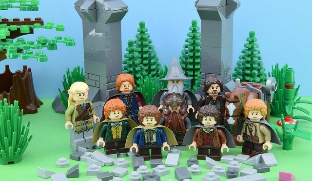 The LEGO Fellowship of the ring