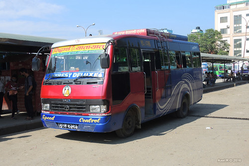 autobus butwal gareroutière nepal