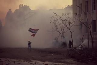 The flag waver of Mohamed Mahmoud Street 2
