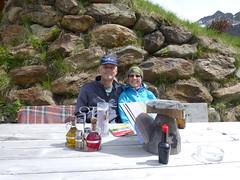 Axel und Alex auf der Hinteregger Alm