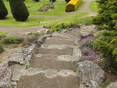 Dyffryn Gardens - Rockery - steps