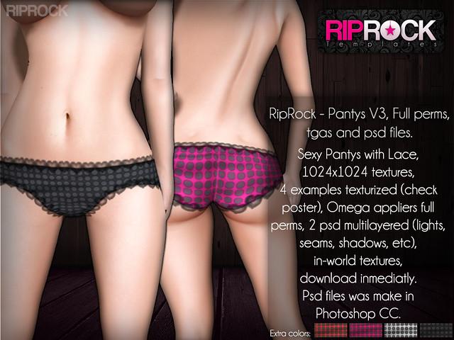 RipRock - Pantys V3  POSTER