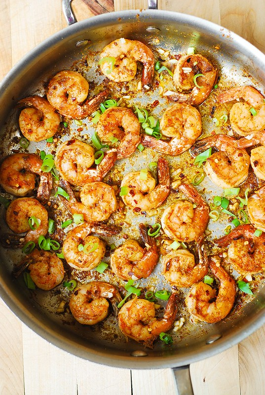 Easy spicy cajun shrimp with sauce julias album how to cook shrimp how to make cajun shrimp forumfinder Gallery