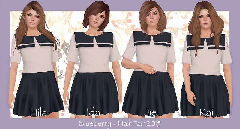 Blueberry - Hair Fair 2015