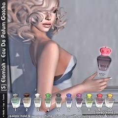 [S] Elemiah - Eau de Parfum Gatcha 2015
