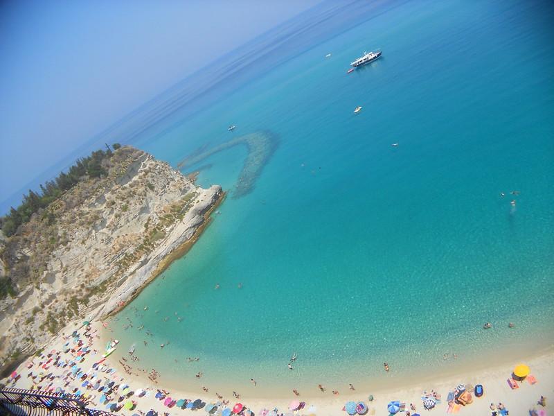 spiaggia, affaccio Raf Vallone, Tropea