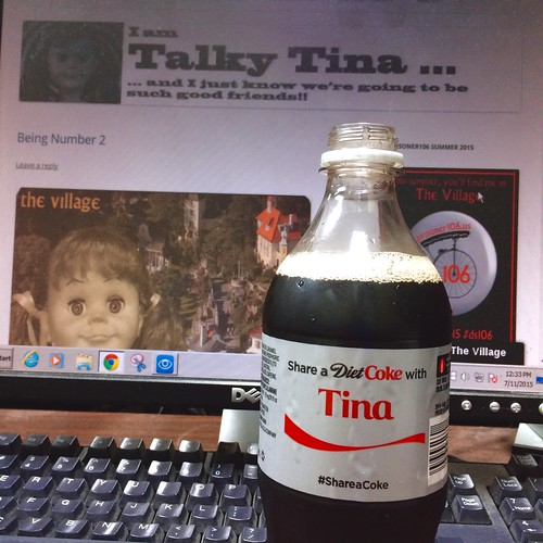 Sharing a Drink with Talky Tina