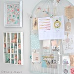 Craft room wall