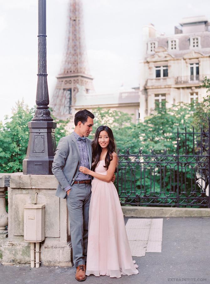 paris elopement photo shoot film