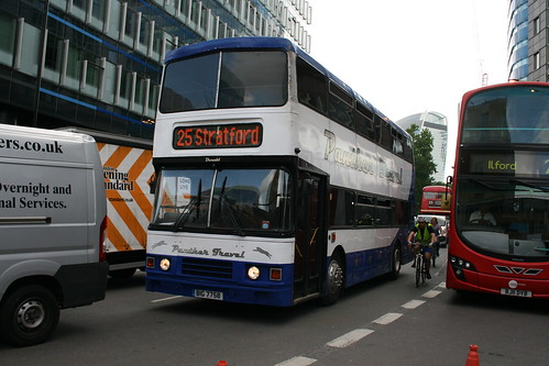 Panther Travel BIG7758 on Route 25, Aldgate