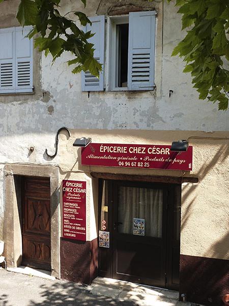 épicerie chez César