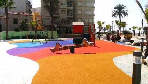 Nuevo parque de Mobipark en Albuñol (Granada)
