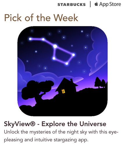 Starbucks iTunes Pick of the Week - SkyView