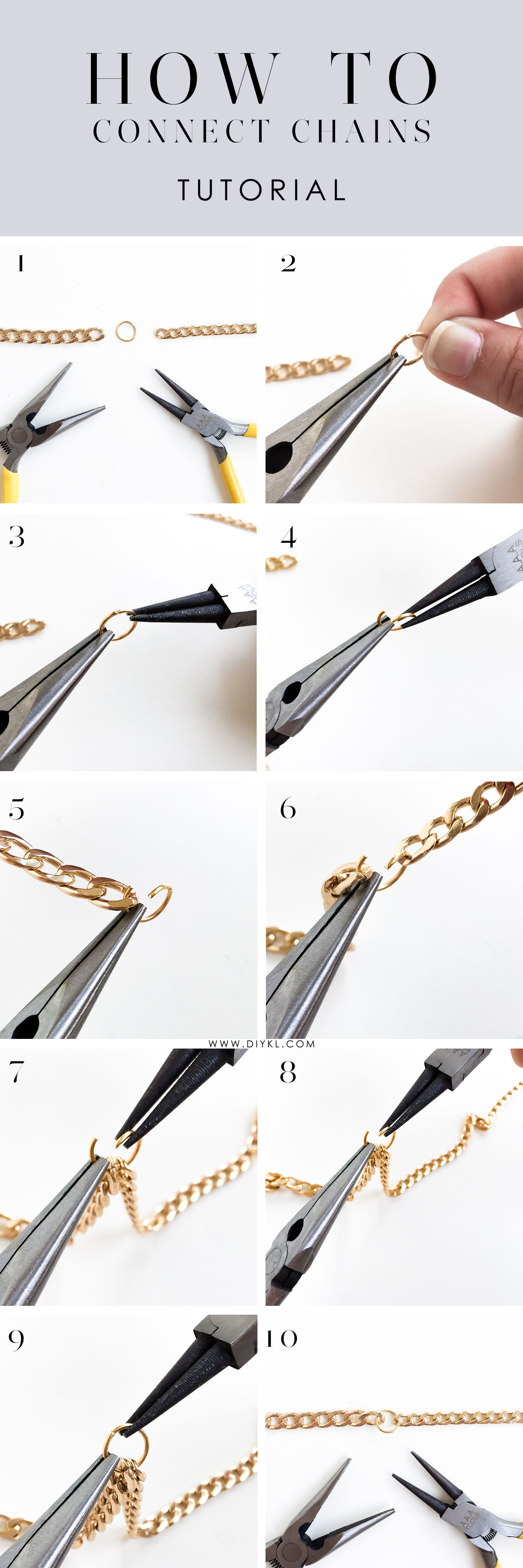 diy how to connect chains