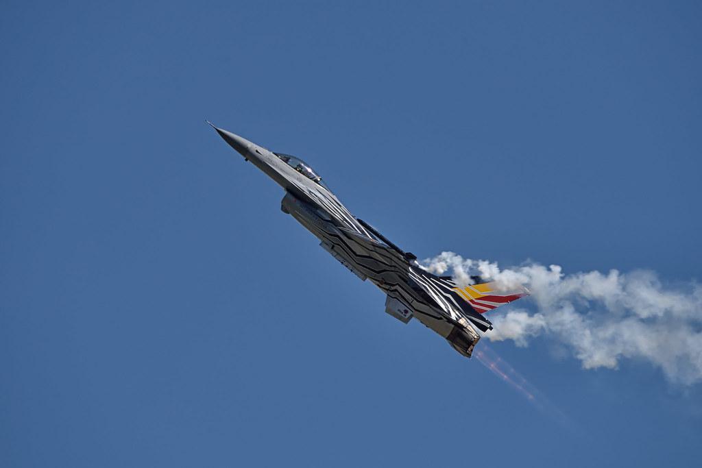 BAF Lockheed Martin F16AM