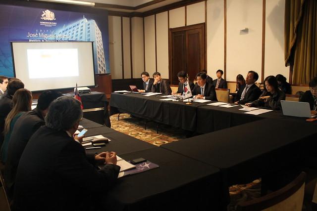 Comisión de Libre Comercio Chile Corea del sur