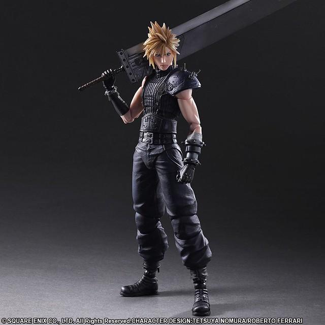 PLAY ARTS改 《Final Fantasy VII Remake》克勞德·史特萊夫 クラウド・ストライフ
