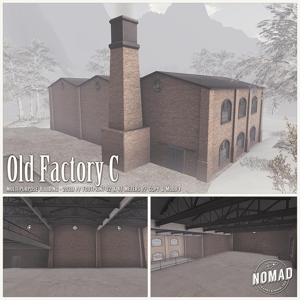 NOMAD // Old Factory C - SecondLifeHub.com