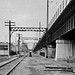 Neg# 2574  - N to ex-NYW&B E.134St STA remains-May-1964 by RAIL TRANSIT HISTORIAN PHOTO ALBUMS