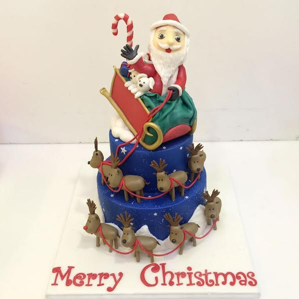 Santa Claus Cake by Henry Lopez