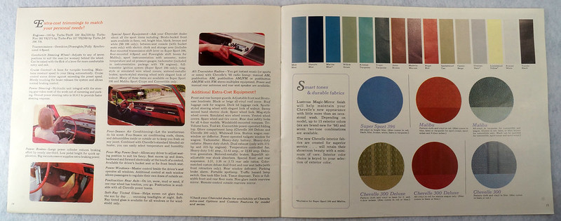 RD12674 1966 Chevy Chevrolet Chevelle Super Sport SS Malibu Brochure Catalog DSC08667