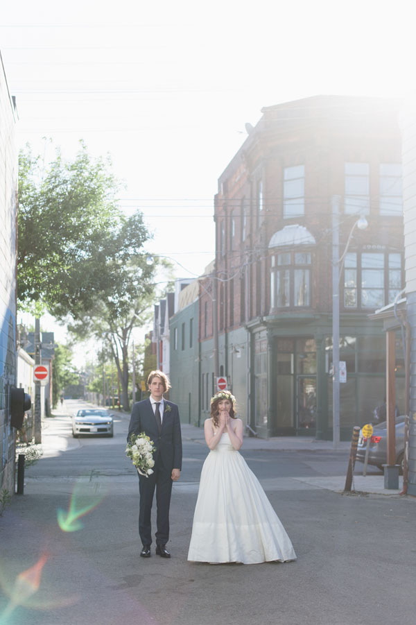 Celine Kim Photography Bellwoods Brewery intimate city wedding Toronto vintage ttc streetcar-97